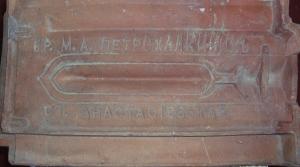 пример черепицы, выпускавшейся в ст. Анастасиевской
